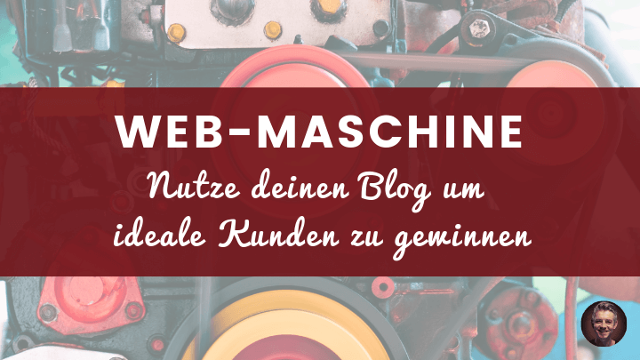 Blog Web-Maschine